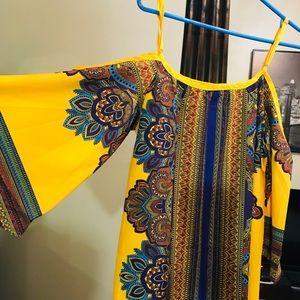 Milumia Womens Tribal Print Kimono